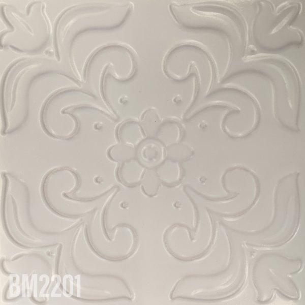 BESPOKE WHITE LACE 200x200mm