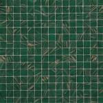 BOTTLE GREEN/COPPER 20 x 20