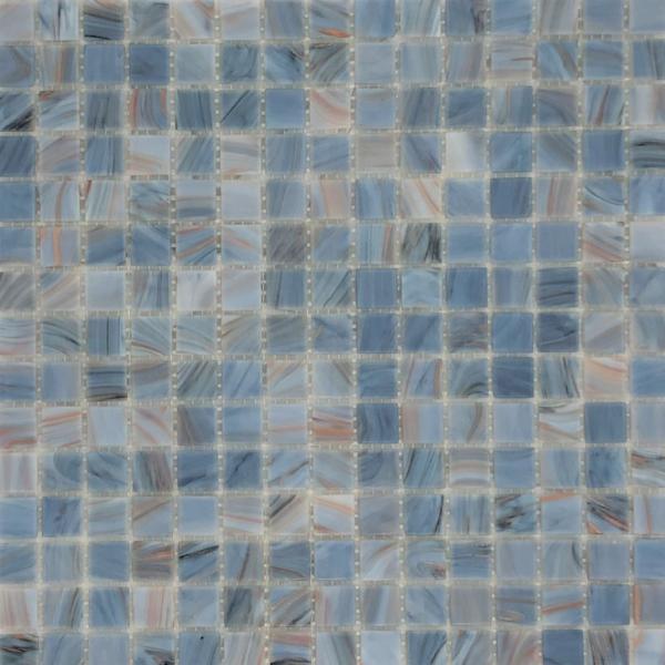 BLUE MOON/COPPER Mosaic 20x20mm