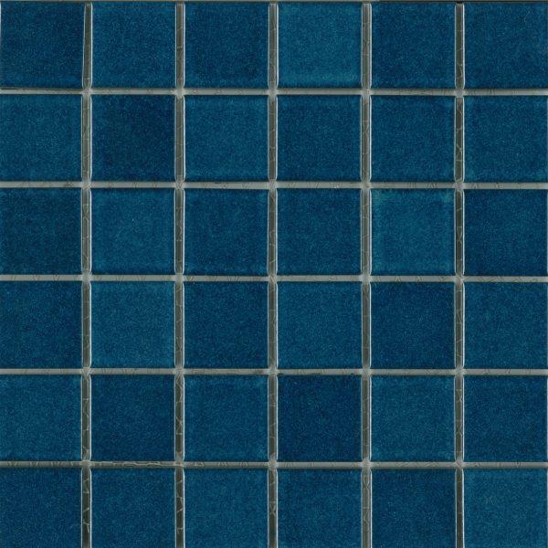 GLOSS AZURE BLUE MOSAIC 47X47mm