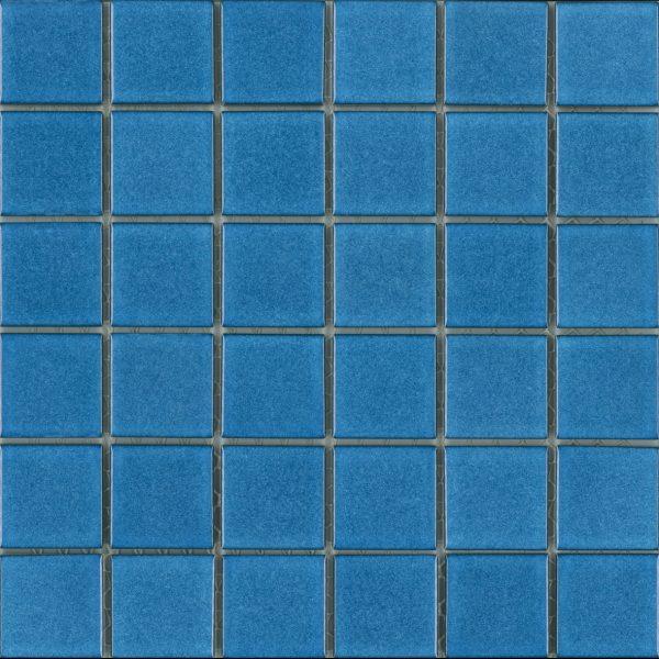 GLOSS LIGHT COBALT BLUE MOSAIC 47X47mm