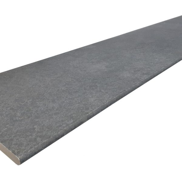 PARLA BLACK EXTERNAL BULLNOSE COPING 300X1200X20mm