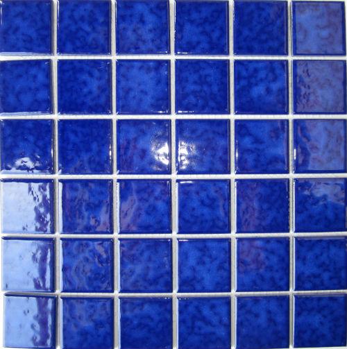 Gloss Mottle Blue 48 x 48mm