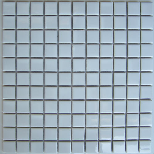 Matt White Mosaic Matt 25 x 25