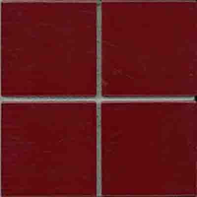 MATT BURGUNDY Mosaic 97X97mm