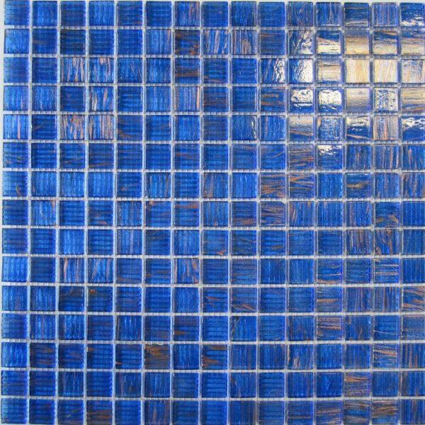 MEDITERRANEAN BLUE/COPPER 20 x 20