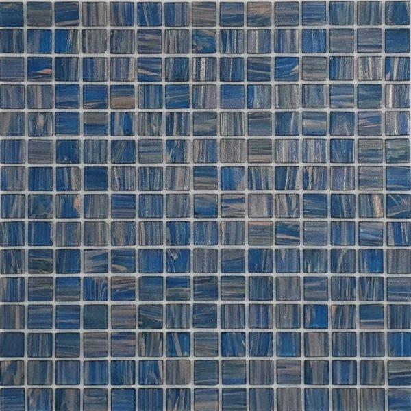 PACIFIC BLUE/COPPER Mosaic 20x20mm