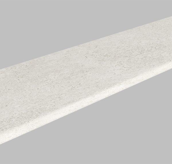 REEFSTONE WHITE EXTERNAL BULLNOSE COPING 300X1200X20mm