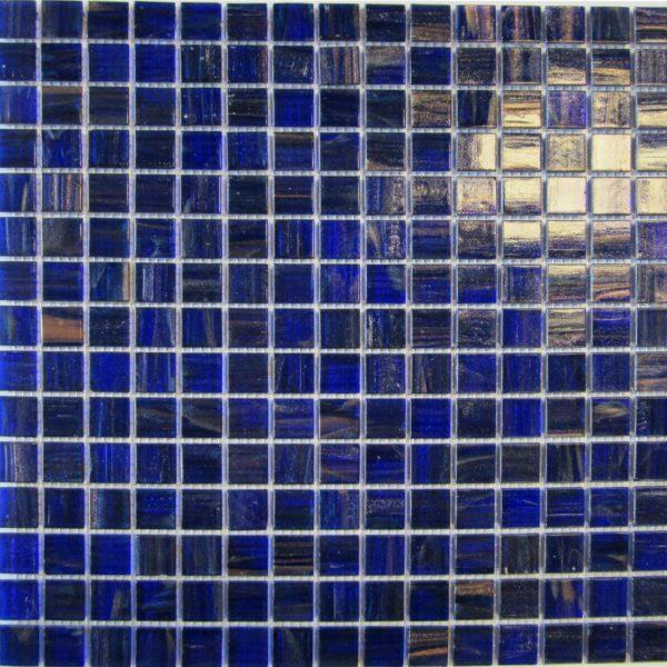 ROYAL BLUE/COPPER 20 x 20