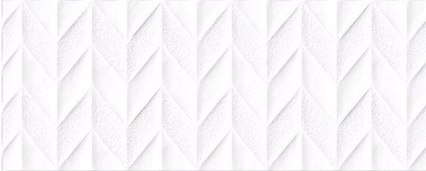 SNOW WHITE CHEVRON MATT 300x800mm