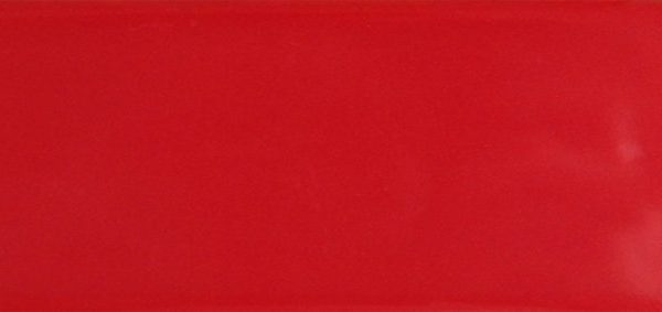 CLASSIC RED GLOSS TILE 100x300mm