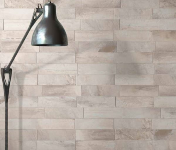 COUNTRY BRICK LIGHT GREY MATT TILE 70x280mm
