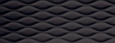 GENESIS FLOAT BLACK MATT TILE 450x1200mm