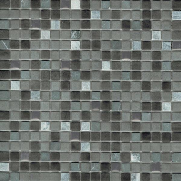 ANTELOPE NERO MOSAIC TILE 15x15mm