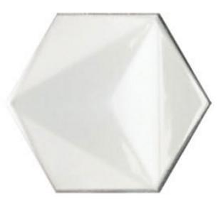CHROMA HEX BINCO GLOSS TILE 150x173mm