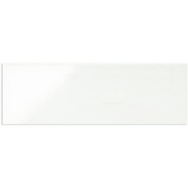 WHITE MATT RECTIFIED WALL TILE 200X600mm