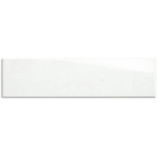 MATT WHITE WALL TILE 100X400mm
