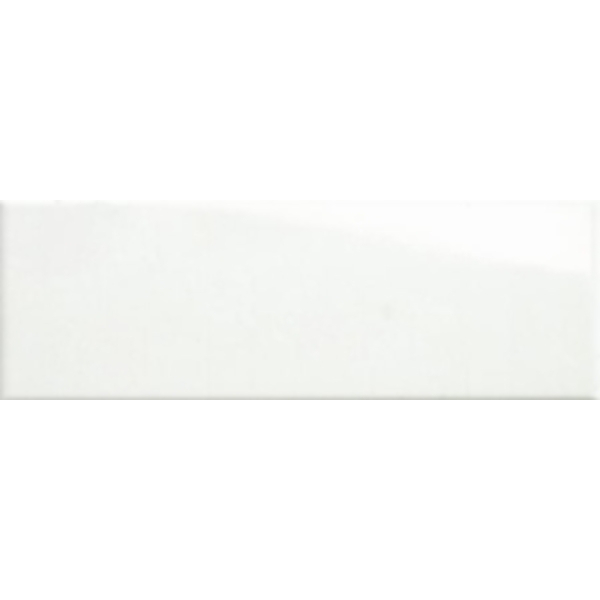 LONG GLOSS WHITE WALL TILE 200X600mm