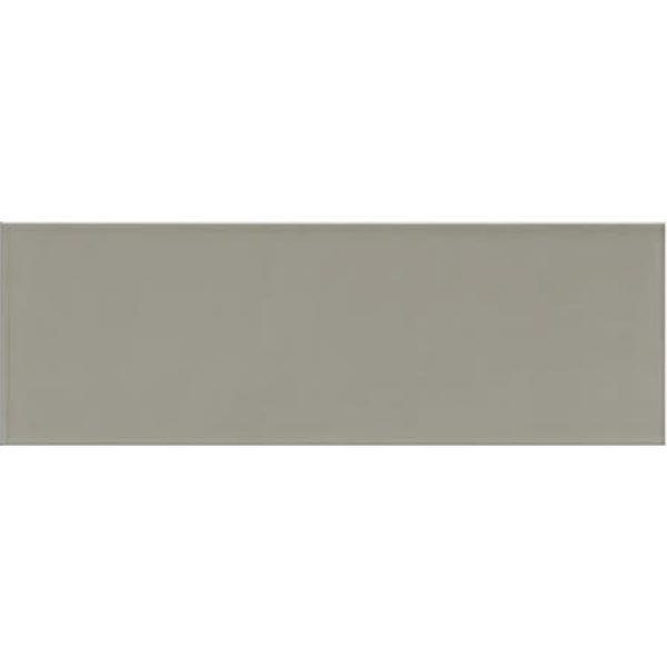 LONG WARM GREY GLOSS WALL TILE 200X600mm