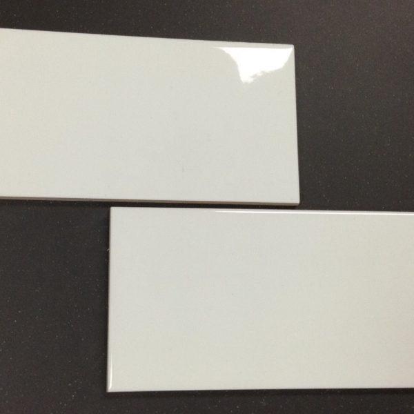 MING BON GLOSS WHITE WALL TILE 100×200mm