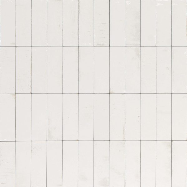 GLEEZE BIANCO WHITE GLOSS TILE 50X150mm
