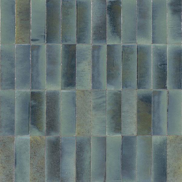 GLEEZE TURCHESE BLUE GLOSS TILE 75X200mm