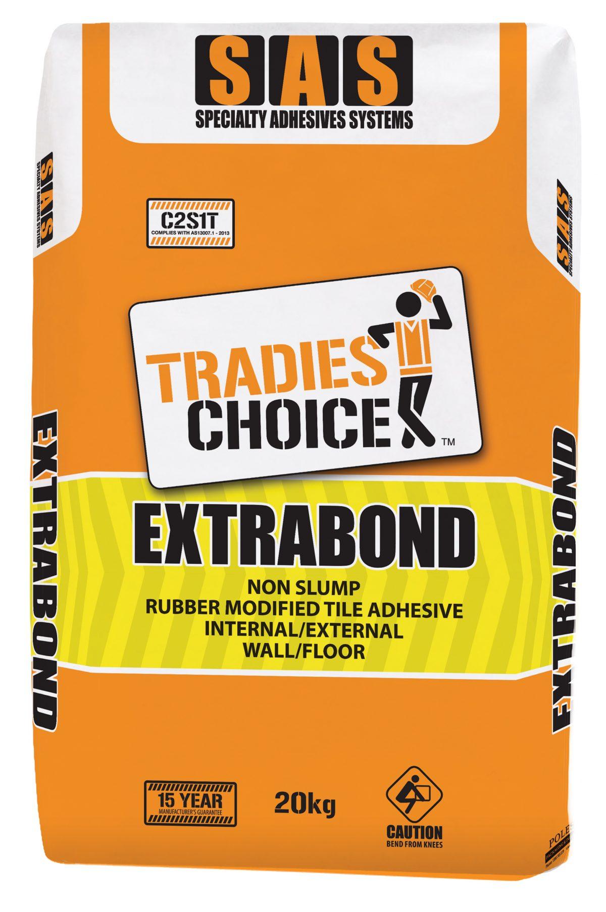 TRADIES CHOICE EXTRABOND 20kg ADHESIVE