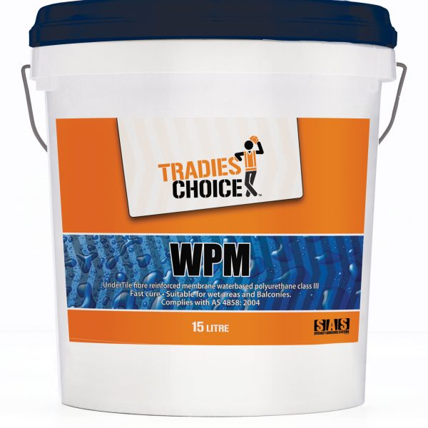TRADIES CHOICE WPM 15L WATERPOOFING